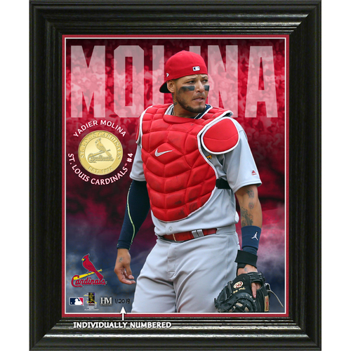 Photo of Yadier Molina Elite Series Bronze Coin Photo Mint