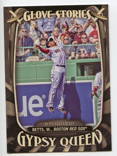 Photo of 2016 Topps Gypsy Queen Glove Stories #GS7 Mookie Betts