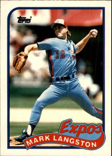 Photo of 1989 Topps Traded #66T Mark Langston