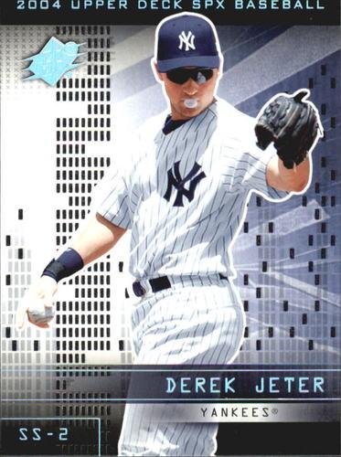 Photo of 2004 SPx #84 Derek Jeter