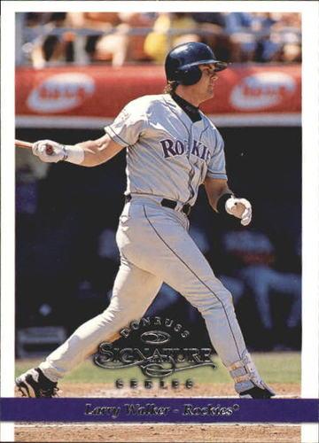 Photo of 1997 Donruss Signature #33 Larry Walker