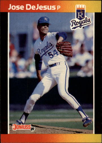 Photo of 1989 Donruss #558 Jose DeJesus DP