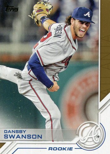 Photo of 2017 Topps Salute #S160 Dansby Swanson