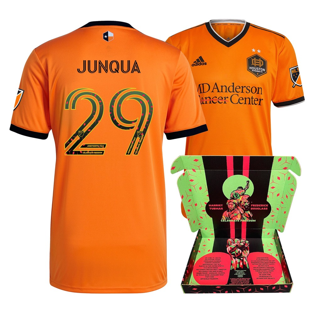 Sam Junqua Houston Dynamo FC Match-Used & Signed