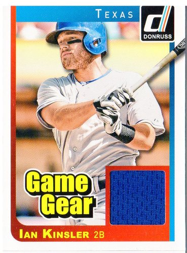 Photo of 2014 Donruss Game Gear #16 Ian Kinsler