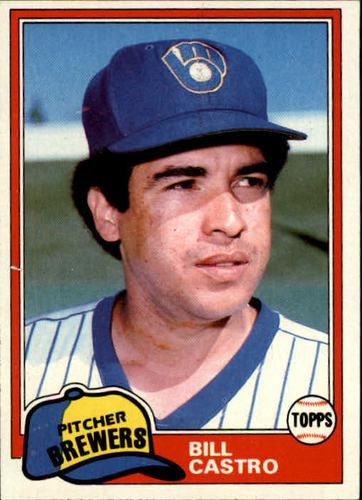 Photo of 1981 Topps #271 Bill Castro
