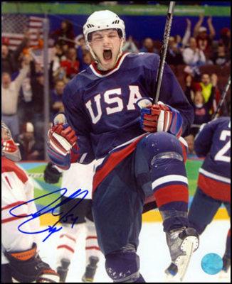 BOBBY RYAN 2010 Olympic SIGNED 8x10 Photo USA Hockey Photo