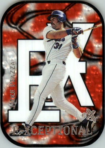 Photo of 2000 E-X E-Xceptional Red #XC6 Mike Piazza