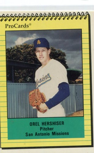 Photo of 1991 San Antonio Missions ProCards #2968 Orel Hershiser