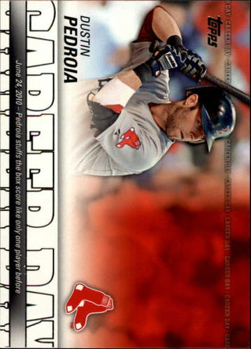 Photo of 2012 Topps Career Day #CD14 Dustin Pedroia