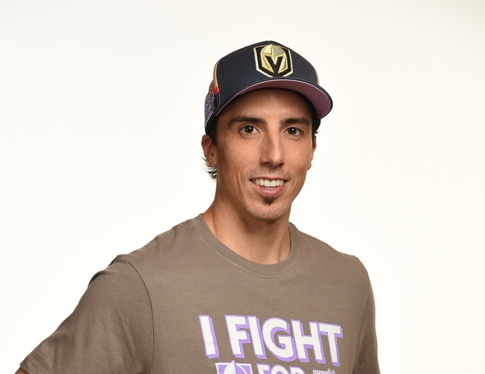 Marc-Andre Fleury 2017 HFC Player Cap from Player Media Tour - Las Vegas Knights