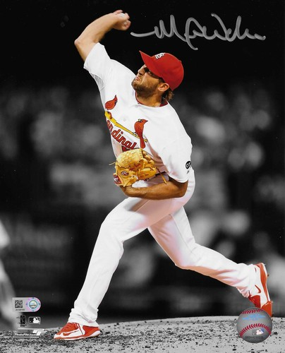 Photo of Michael Wacha Autographed 8x10 Photo (Pitching)