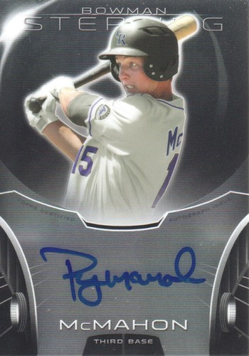 Photo of 2013 Bowman Sterling Prospect Autographs #RMM Ryan McMahon