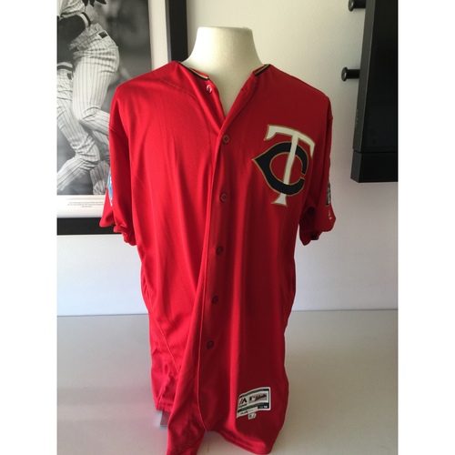 Photo of Minnesota Twins - 2018 Spring Training Jersey Grab Bag Red