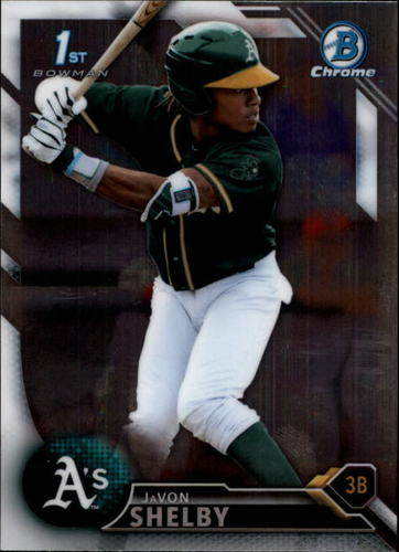 Photo of 2016 Bowman Chrome Draft #BDC21 JaVon Shelby
