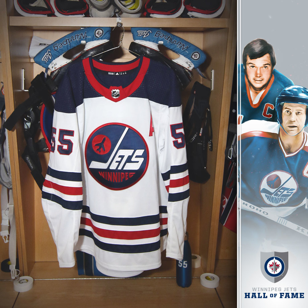 the best attitude 14188 ea311 MARK SCHEIFELE (A) Game Worn Heritage Jersey - NHL Auctions