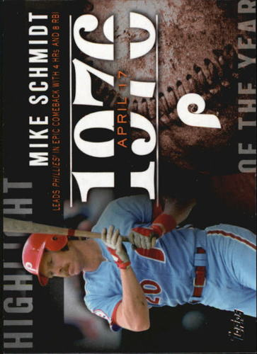 Photo of 2015 Topps Highlight of the Year #H19 Mike Schmidt