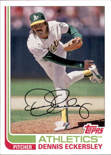 Photo of 2017 Topps Archives #167 Dennis Eckersley