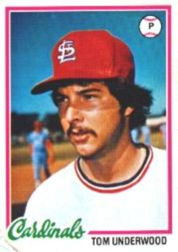Photo of 1978 Topps #531 Tom Underwood