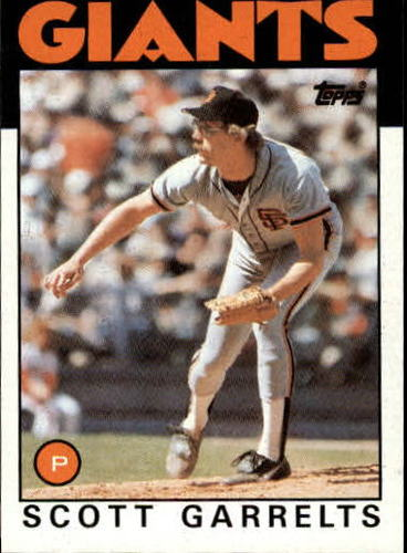 Photo of 1986 Topps #395 Scott Garrelts