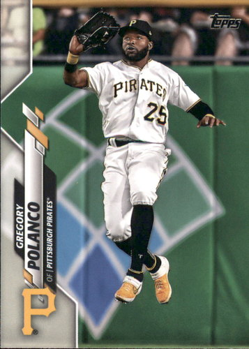Photo of 2020 Topps #170 Gregory Polanco