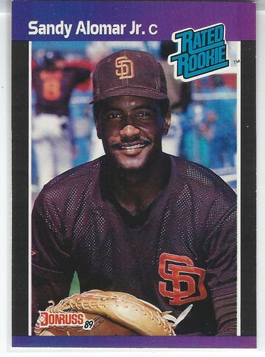 Photo of 1989 Donruss #28 Sandy Alomar Jr. RC