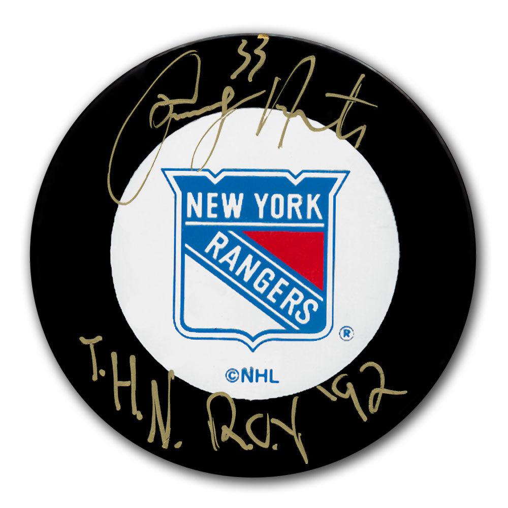 Tony Amonte New York Rangers Autographed Puck