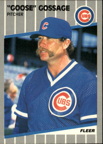 Photo of 1989 Fleer #425 Rich Gossage