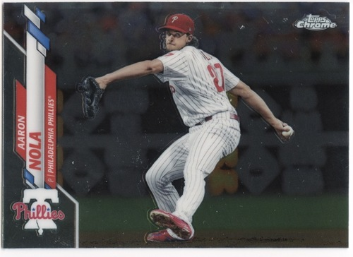Photo of 2020 Topps Chrome #199 Aaron Nola