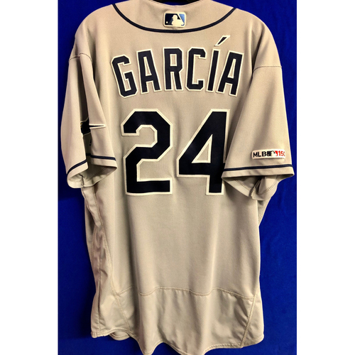 Photo of Game Used Road Gray Jersey: Avisail Garcia - 3 Games - May 14-15, 2019 v MIA and May 28, 2019 v TOR