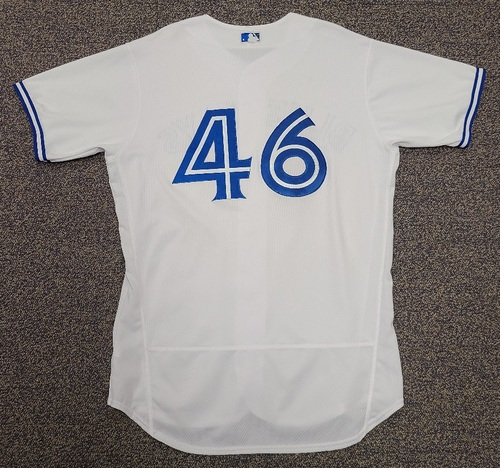 Photo of Authenticated Team Issued 2020 Summer Training Camp Jersey: #46 Patrick Kivlehan. Size 48.