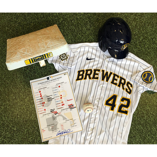 Photo of Eric Sogard 1st Career Walk-Off HR Memorabilia Package