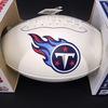 Titans - Dion Lewis Signed Panel Ball W/ Titans Logo