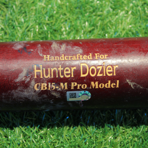 Photo of Game-Used Broken Bat: Hunter Dozier #17 (DET @ KC 9/26/20)