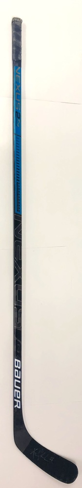 #23 Riley Sheahan Game Used Stick - Autographed - Edmonton Oilers