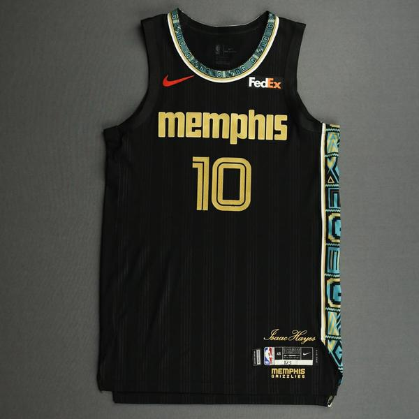 Image of Tim Frazier - Memphis Grizzlies - Game-Worn City Edition Jersey - Dressed, Did Not Play (DNP) - 2020-21 NBA Season