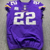 Crucial Catch - Vikings Harrison Smith Game Issued Jersey Size 42 W/ Captains Patch