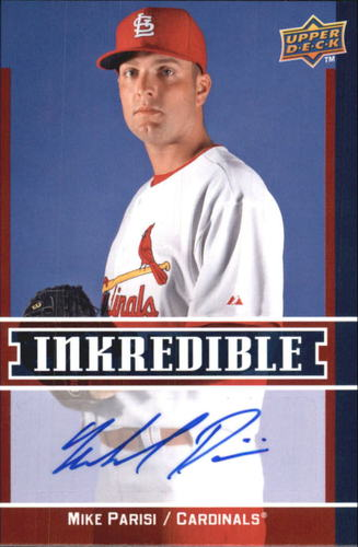 Photo of 2009 Upper Deck Inkredible #PA Mike Parisi S2