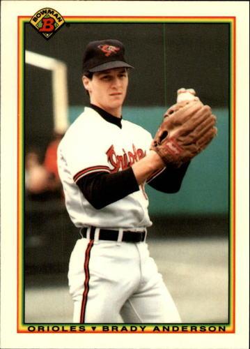 Photo of 1990 Bowman Tiffany #258 Brady Anderson