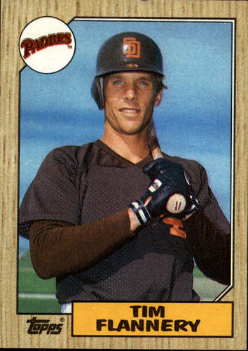 Photo of 1987 Topps #763 Tim Flannery