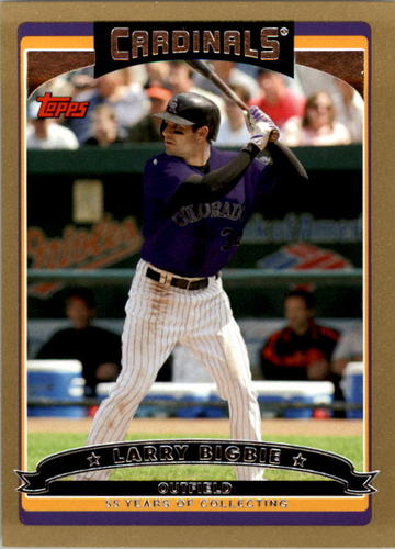 Photo of 2006 Topps Gold #192 Larry Bigbie