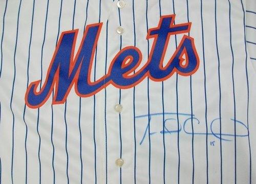 Travis D'Arnaud Autographed Replica Jersey