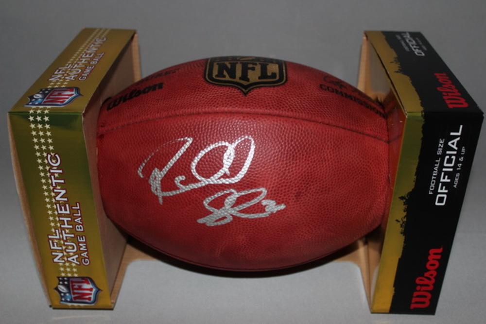 NFL - SEAHAWKS RICHARD SHERMAN SIGNED AUTHENTIC FOOTBALL