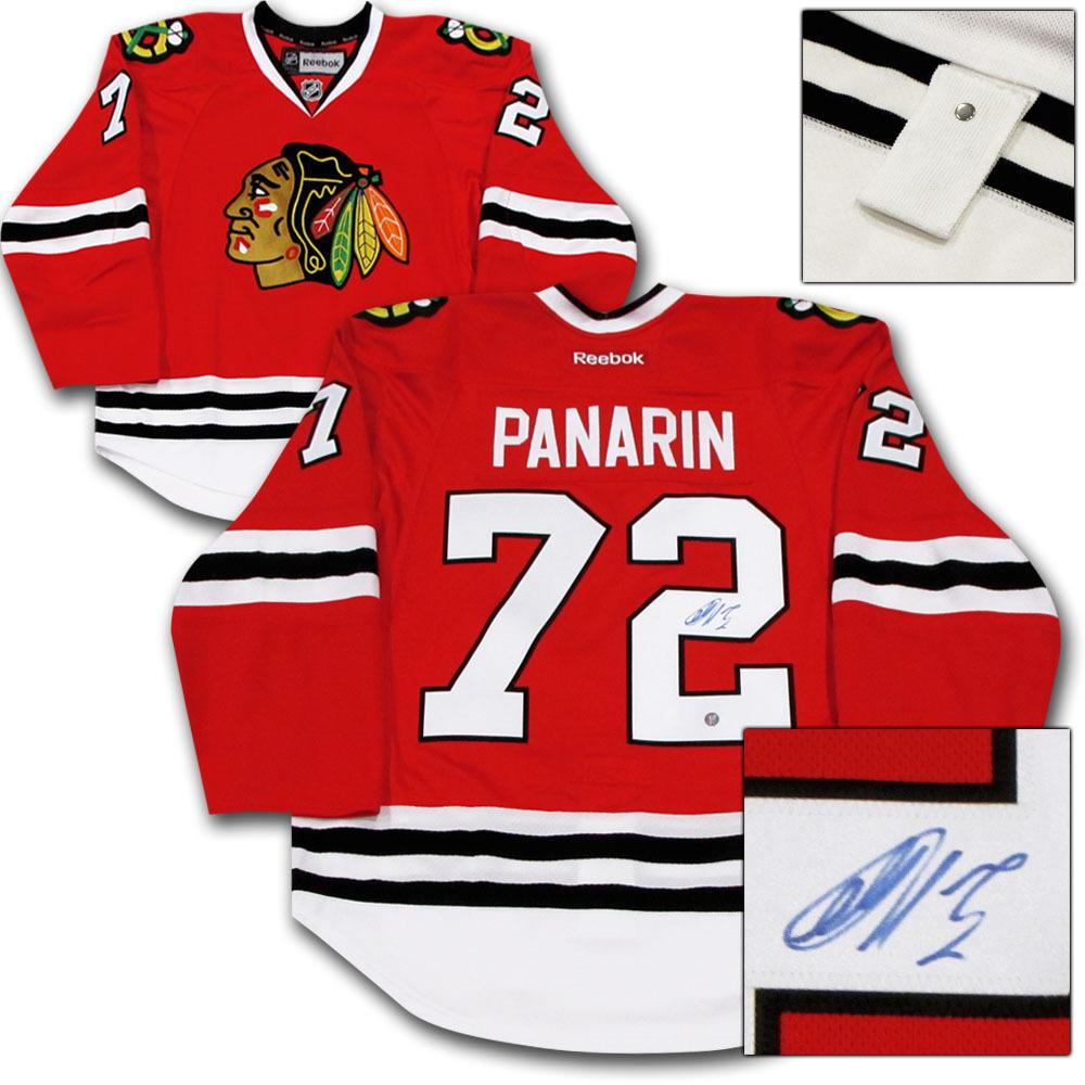Artemi Panarin Autographed Chicago Blackhawks Authentic Pro Jersey
