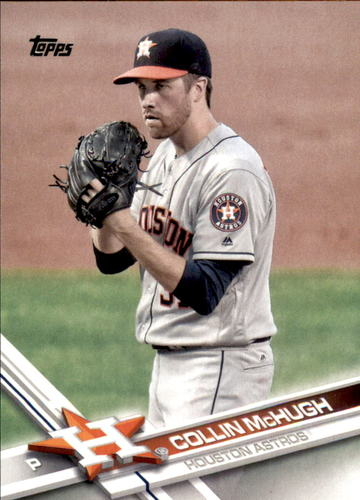 Photo of 2017 Topps #585 Collin McHugh