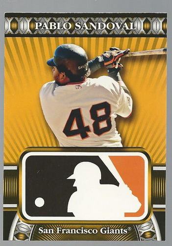 Photo of 2010 Topps Logoman HTA #25 Pablo Sandoval