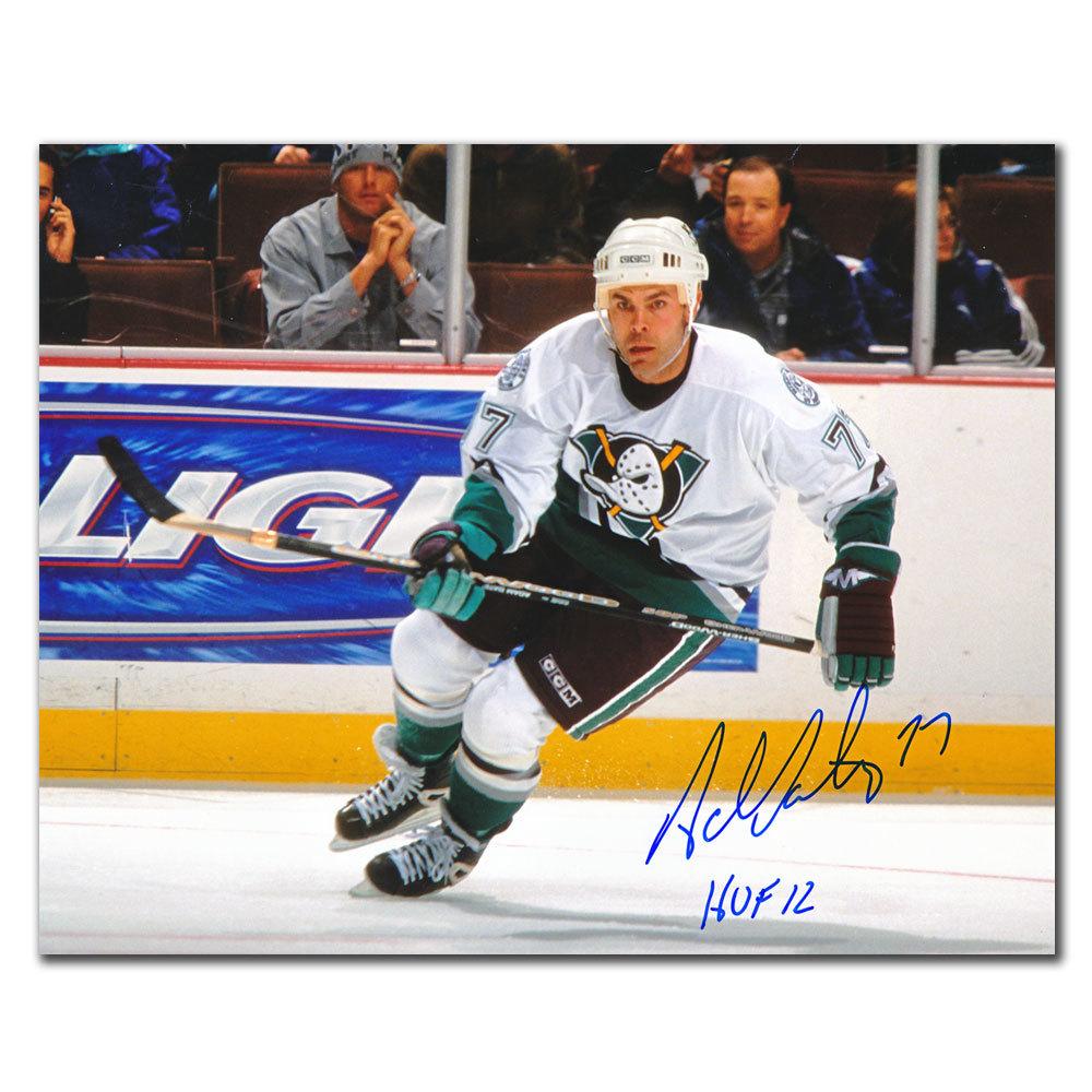 Adam Oates Anaheim Ducks HOF Autographed 8x10