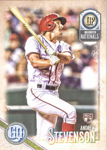Photo of 2018 Topps Gypsy Queen #3 Andrew Stevenson RC