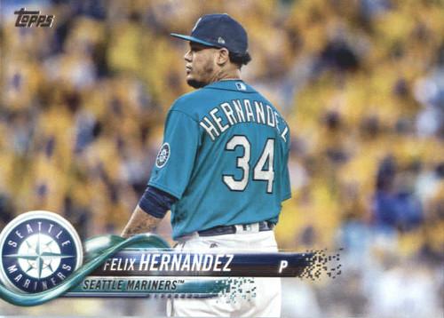 Photo of 2018 Topps #567 Felix Hernandez