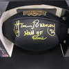 HOF - Lions Lem Barney Signed Commemorative Black Hall of Fame Football